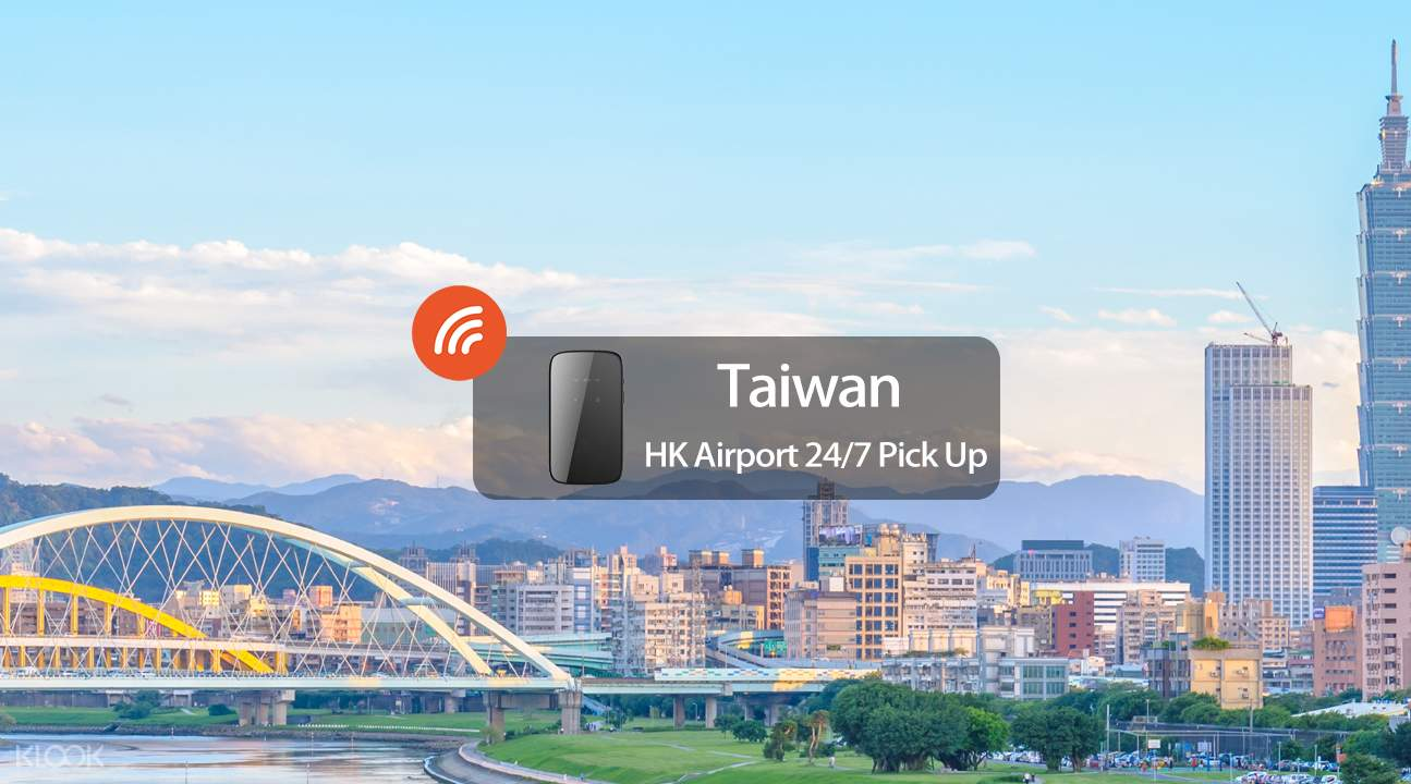 Taiwan 4G WiFi (HK Airport 24/7 Pick up)